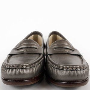 SAS Shoes - SAS Women's Wink Penny Loafer Pewter Slip On Shoes
